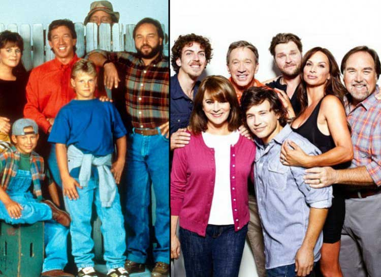 Stars of the Best 90s TV Shows: Then and Now