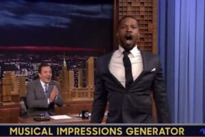 jamie foxx wheel of musical impressions