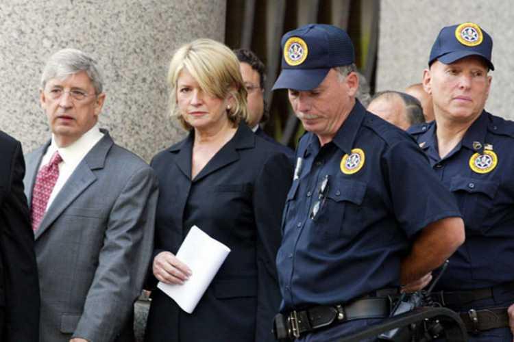 Martha Stewart Jail