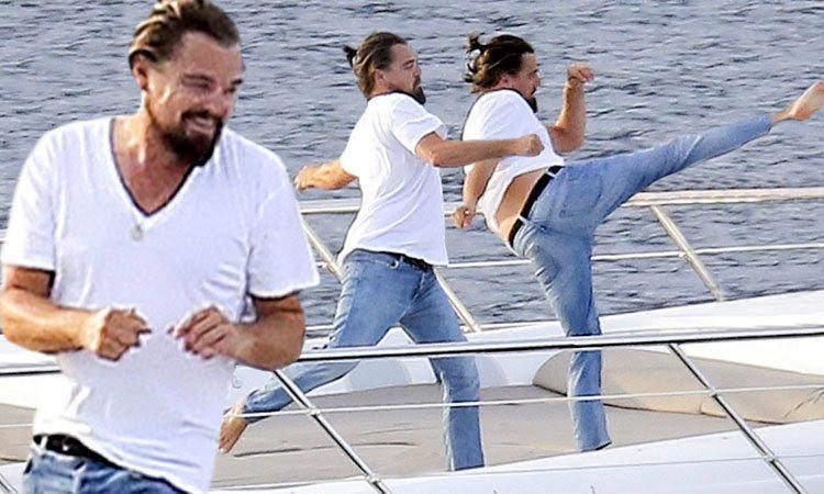 Leonardo DiCaprio Karate
