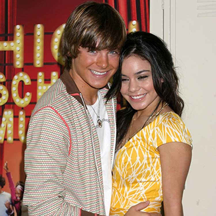 Zac Efron and Vanessa Hudgens High School Musical