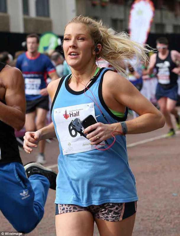 Ellie Goulding Running