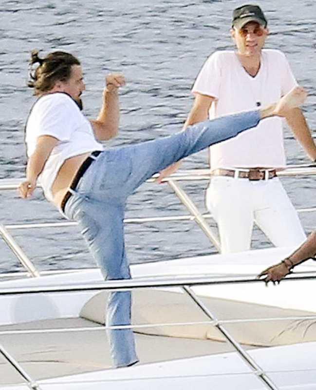 Leo DiCaprio Karate