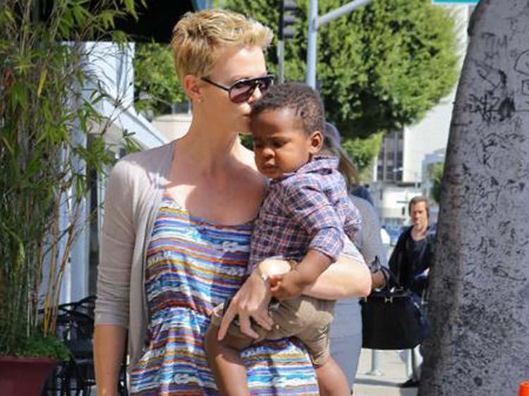 Charlize Theron Adoption