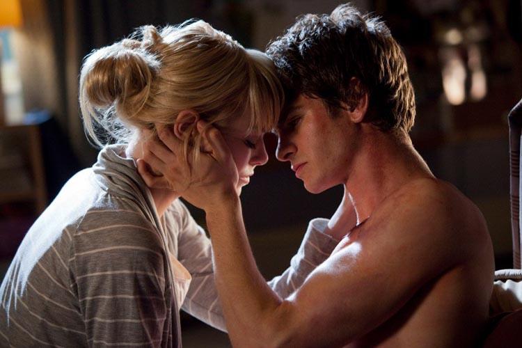 Emma Stone Andrew Garfield Spiderman