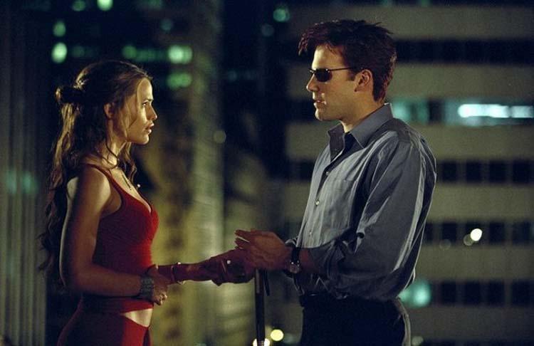 Jennifer Garner Ben Affleck Daredevil