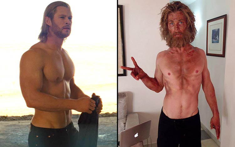 Chris Hemsworth method acting