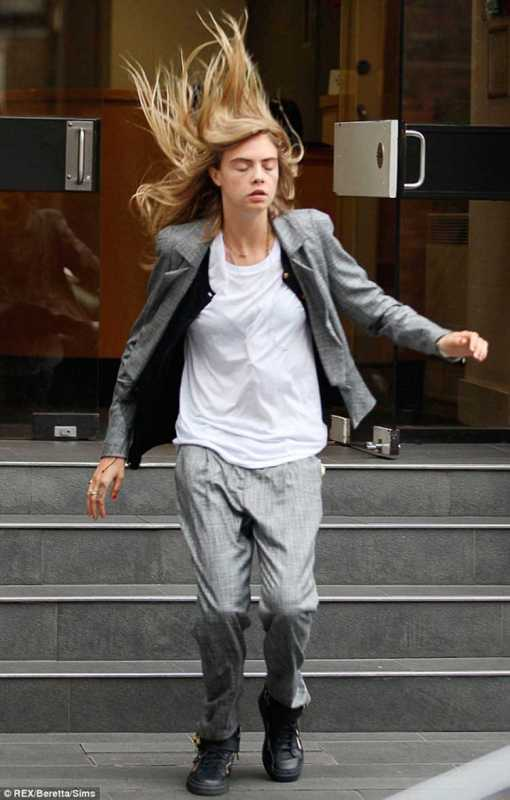 Celebrities Caught Out by the Wind