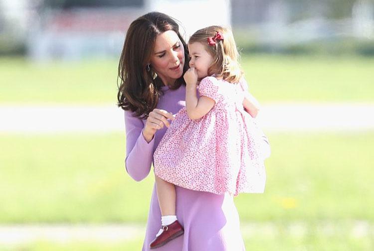 princess charlotte fashion